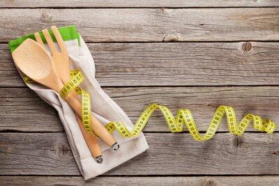 Cuadro Concepto de alimentos saludables