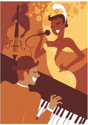 Cuadro Concierto de jazz