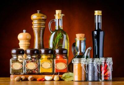Cuadro Condimentos y especias