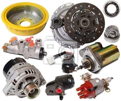 Conjunto de piezas de automóviles