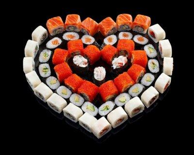 Cuadro Conjunto de sushi