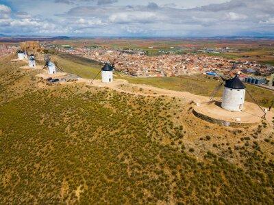 Consuegra with windmills