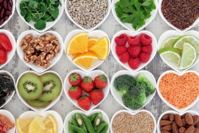 Cuadro Corazón Saludable Alimentación
