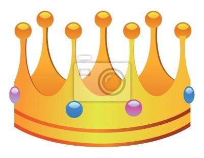 Corona Del Rey Pinturas Para La Pared Cuadros Dress Up Edad Media