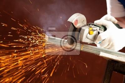 cortar metal
