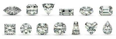 Cuadro Cortes de diamante