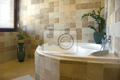 Cuarto de baño interior pinturas para la pared • cuadros manta ...