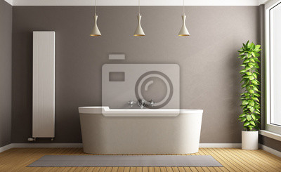 Cuarto de baño minimalista pinturas para la pared • cuadros ...