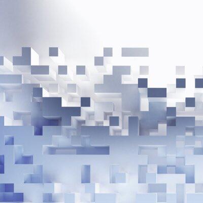 Cuadro Cubos abstractos fondo de pantalla