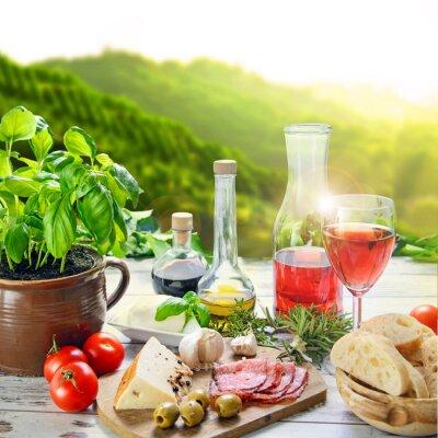 Cuadro Cucina Italiana