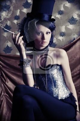 dama de fumar
