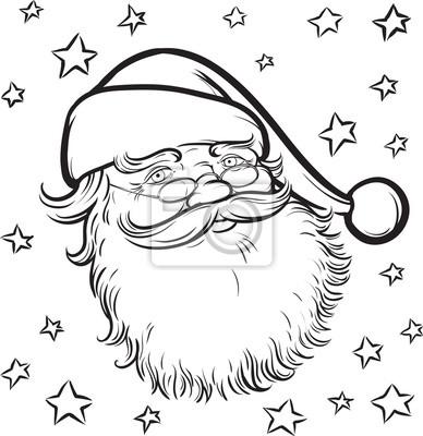 De Dibujos Animados Para Colorear Libro De Papá Noel Pinturas Para
