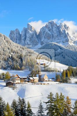 De Santa Maddalena en invierno