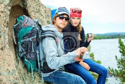 descansar en la montaña