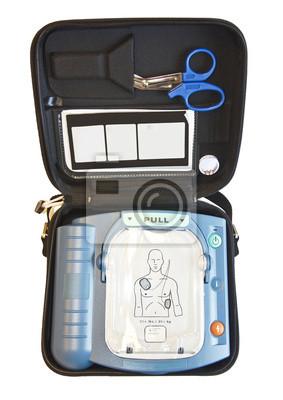 Desfibrilador externo automático o caja de AED
