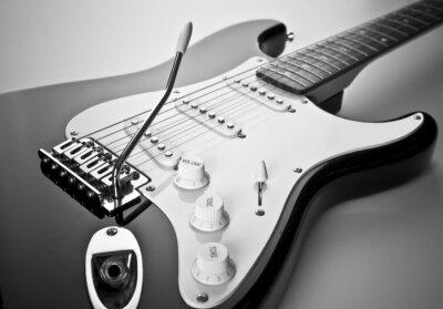 Cuadro Detalle de la guitarra eléctrica