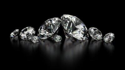 Cuadro diamantes