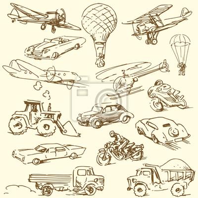dibujado a mano - Garabatos de viajes