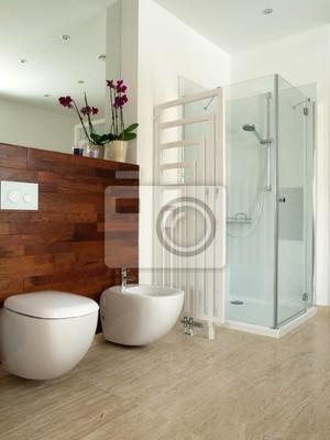 Diseñadores lujoso cuarto de baño pinturas para la pared ...