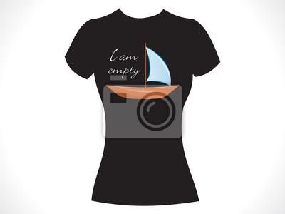7f3cf2eda4a65 Diseño abstracto chica camiseta pinturas para la pared • cuadros ...
