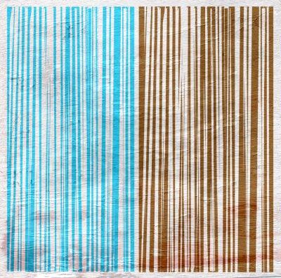 Cuadro Diseño abstracto en la textura de madera de grano