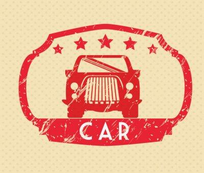 Cuadro Diseño de concepto de coches