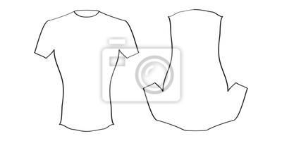 Cuadro Diseño de la camiseta bb9525ea7c053