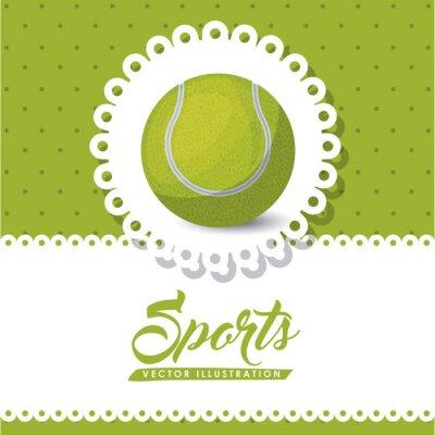 Cuadro Diseño de la liga de tenis