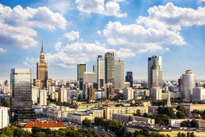 Cuadro Distrito financiero de Varsovia