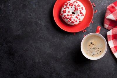 Cuadro Donut y café