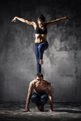 Cuadro Dos bailarines