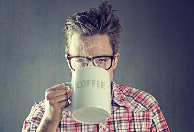 Cuadro Drogadicto del café