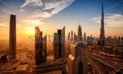 Cuadro Dubai al amanecer