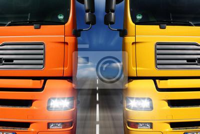 Cuadro Duelo Truck