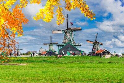 Dutch wind mills