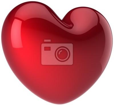 El amor la forma del corazón. Concepto de sentimiento romántico. Símbolo de la vida