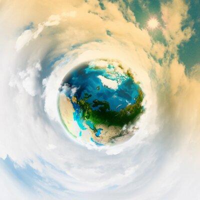 Cuadro El planeta Tierra