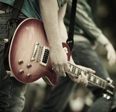 Cuadro el rock and roll