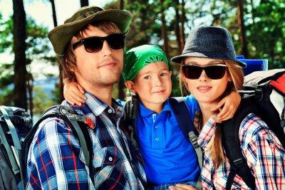 el turismo con el hijo