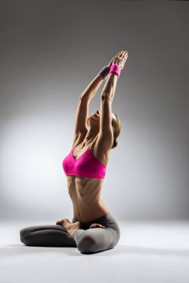 Cuadro el yoga