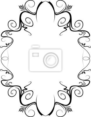 Elegante marco decorativo. pinturas para la pared • cuadros raído ...