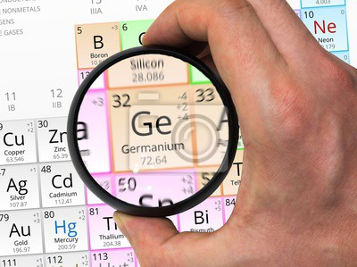 Elemento de la tabla peridica zoom con la lupa pinturas para la cuadro elemento de la tabla peridica zoom con la lupa urtaz Choice Image