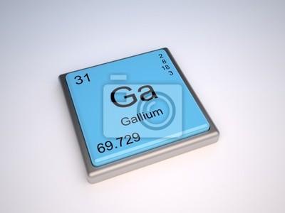 Elemento qumico de galio de la tabla peridica con smbolo ga cuadro elemento qumico de galio de la tabla peridica con smbolo ga urtaz Choice Image
