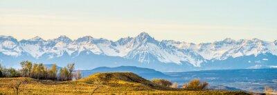 Cuadro en las estribaciones de Rockies de Colorado