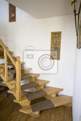 Escaleras Al Segundo Piso Pinturas Para La Pared Cuadros Comodidad - Cuadros-para-escaleras