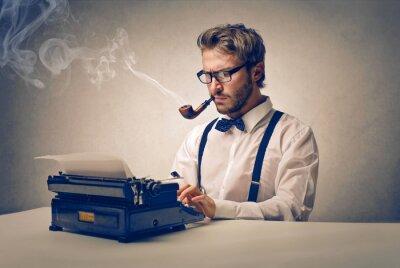 Cuadro Escritor