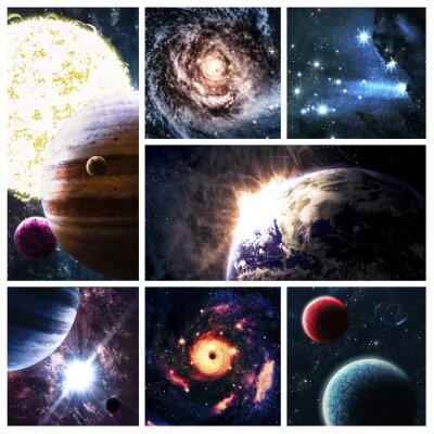 Cuadro Espacio collage