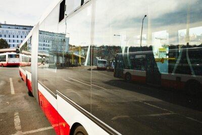 Cuadro Estación de autobuses