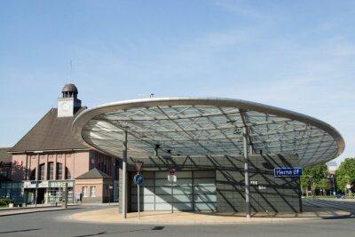 Cuadro Estación de autobuses de Herne, Renania del Norte-Westfalia, Alemania