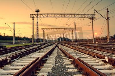 Cuadro Estación de ferrocarril